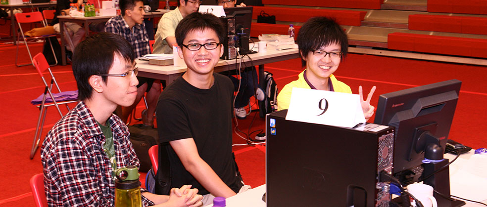 Programming Team at the ACM Contest World Finals (2012)