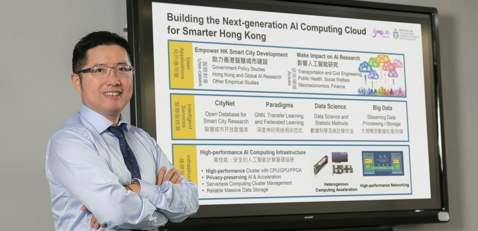 Building the Next-generation AI Computing Cloud for Smarter Hong Kong
